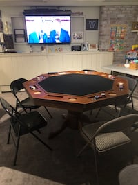 American Heritage Game Room Collections Billiards and Poker Table Cortlandt Manor, 10567