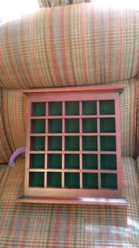 pink, green, and white plaid textile Winder, 30680