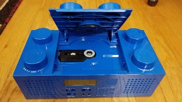 Official LEGO Brick Stereo CD Boombox FM/AM Radio