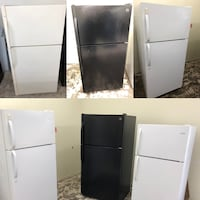 Top & bottom refrigerators all major brands in excellent working condition 100 days warranty