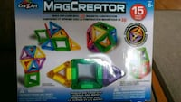MagCreator 15 pcs set - great kit!  Toronto, M9N 2P5