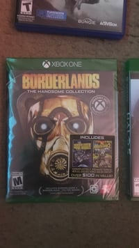 Xbox One Borderlands The Handsome Collection case Fullerton