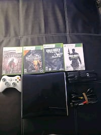 Xbox 360 s Game console and 4 game Hartford, 06105