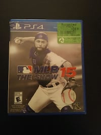 Sony PS4 MLB the Show 15 game