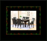 5pc dining table set with 4 chairs Washington, 20018