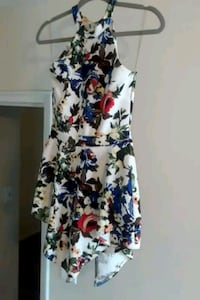 Flowered  back out romper dress Baltimore, 21218