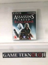 PS3 ASSASSINS CREED REVELATIONS 15TL GAMETEKNOLOJI Kılıç Reis Mahallesi, 35280