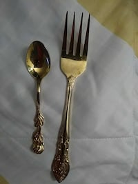 Stainless steal collectable fork and spoon Coon Rapids, 55433