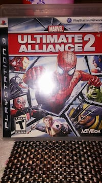 Ps3 game Marvel Ultimate Alliance 2 Milford Mill