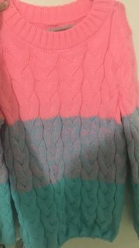 Cute multicolour sweater  New Westminster, V3M 1G8