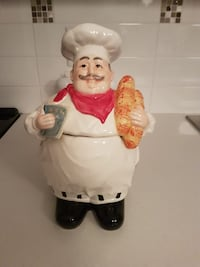 Ceramic baker figurine/cookie jar Surrey, V3S 3V9