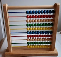 wooden Abacus toddler toy Innisfil, L9S 1G8