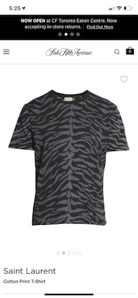Saint Laurent t-shirt Vancouver, V5V 1G4