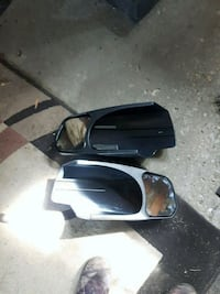 extended truck mirrors GMC 2007-2013.