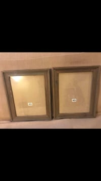 Two brown wooden framed glass doors Long Grove, 60047