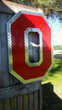 Osu block o sign for garage or mancave Bowling Green, 43402