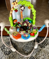 Fisher-Price Go Wild Jumperoo in excellent condition for sale.  MARKHAM