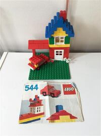 Vintage Lego Basic Building Set #544 Markham