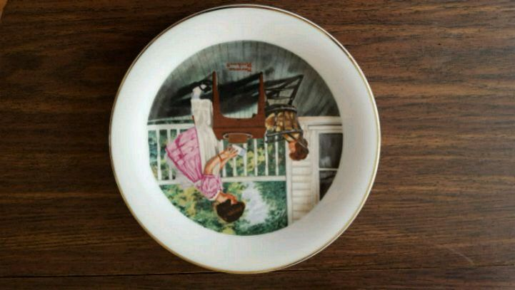Photo Norman Rockwell collectors plate