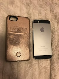 iPhone 5S 16GB Unlocked + Lumee Case Edmonton, T5H 1N1