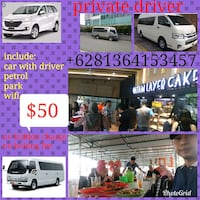 Batam private driver Singapore, 258908