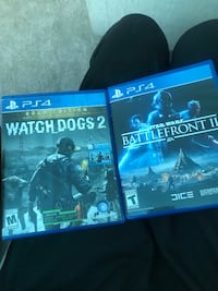 Watch Dogs & Star Wars Battle Front 2 Hyattsville, 20782