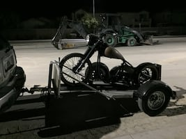 Project chopper with trailer