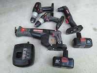 black and red cordless power drill Castaic, 91384