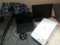 Dell Computer, HP Photocopier Monitor, Microphone, Manassas, 20111