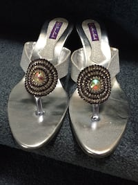 Brand New Silver Party Shoes Toronto, M1B 2W1