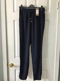 Navy blue trousers with pockets NEW with tag size M Los Angeles, 91405