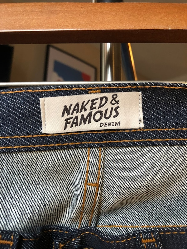 Men's Naked and Famous Weird Guy size 32 bbffda54-6271-4eff-a56d-328e0ae00c29