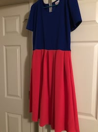 women's blue and red dress Chesapeake, 23322