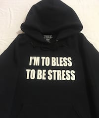Brand New I'm to bless to be stress Hoodie  Surrey