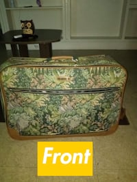 green and white floral luggage bag Augusta, 30901