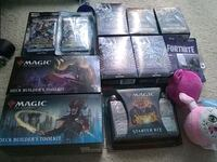 Magic the Gathering and Yu-Gi-Oh Cards sealed Centreville, 20121