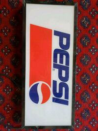 Pepsi light up sign Calgary, T2Y 4B3