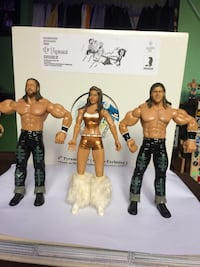 WWE MNM Action Figures  Sainte-Julie, J3E