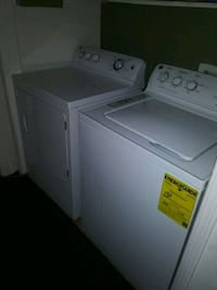 white washer and dryer set Union City, 30291