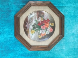 Roses Collector Plate