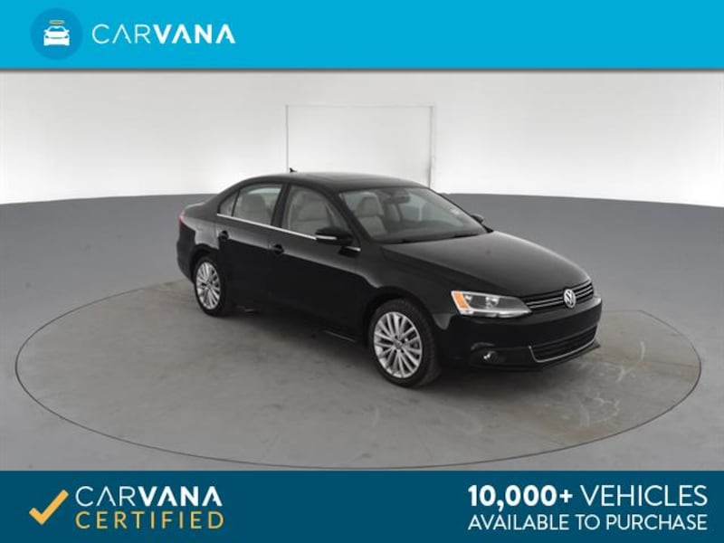 2014 VW Volkswagen Jetta sedan 2.0L TDI Sedan 4D Black <br /> 9