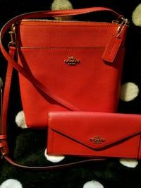 Coach crossbody and matching wallet Springfield, 65803
