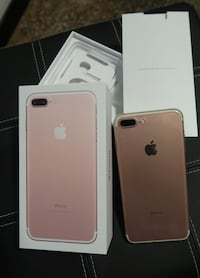 IPhone 7 plus in oro rosa con scatola 256GB, come nuovo San Gottardo, 16138