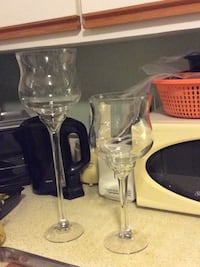 Two tall and big glasses great for the holiday  Fairfax, 22032