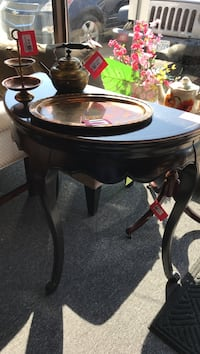 Black semi lune table  Mississauga, L4X 1L9