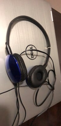 JVC HA-S160 FLATS Over-Ear Headphones - Blue Chicago, 60647