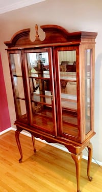 Wooden Framed Glass China Cabinet Olney, 20832