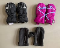 Columbia Infant Snow Mittens and fleece mittens- in EUC! Vancouver, 98683