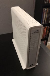 Cable modem router