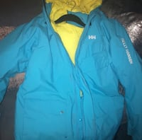 New Women's Turquoise Helly Hansen Coat  Glenn Dale, 20769